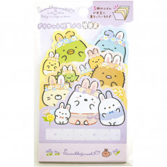 Japan San-X Die-cut Sticky Notes - Sumikko Gurashi / Mysterious Rabbit Oniwa A