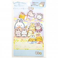 Japan San-X Die-cut Sticky Notes - Sumikko Gurashi / Mysterious Rabbit Oniwa B