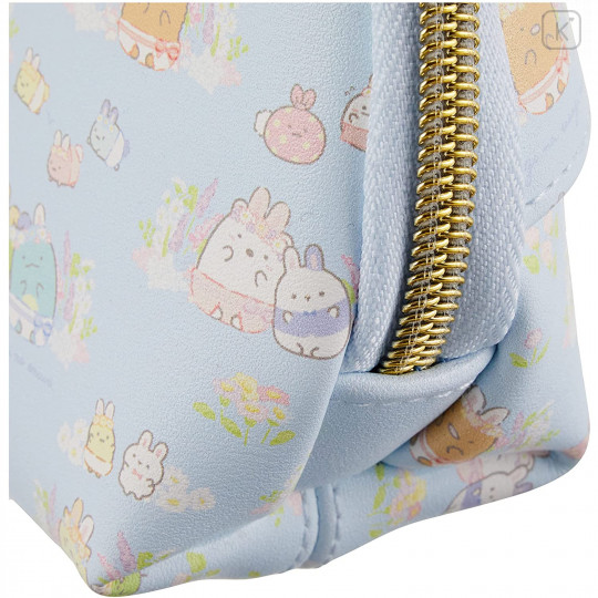Japan San-X Circular Pouch with Tissue Case - Sumikko Gurashi / Mysterious Rabbit Oniwa - 4
