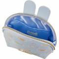 Japan San-X Circular Pouch with Tissue Case - Sumikko Gurashi / Mysterious Rabbit Oniwa - 5