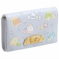 Japan San-X Card Case - Sumikko Gurashi / Mysterious Rabbit Oniwa