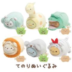 Japan San-X Mini Plush (SS) 6pcs Set - Sumikko Gurashi / Animal Park