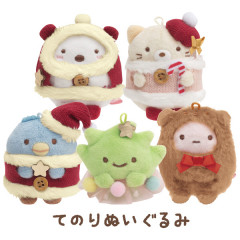 Japan San-X Mini Plush (SS) 5pcs Set - Sumikko Gurashi / Christmas