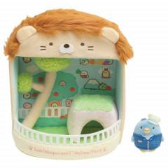 Japan San-X Scene Plush Toy - Sumikko Gurashi / Animal Park