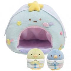 Japan San-X Scene Plush Toy - Sumikko Gurashi / Overnight Party