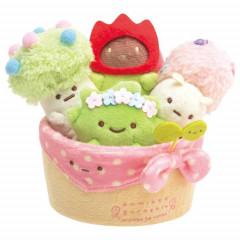 Japan San-X Scene Plush Toy - Sumikko Gurashi / Minikko to Asobo Planter