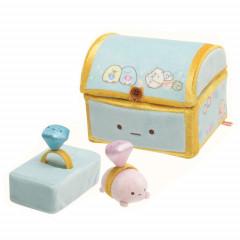 Japan San-X Scene Plush Toy - Sumikko Gurashi / Mole House Box