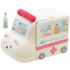 Japan San-X Scene Plush Toy - Sumikko Gurashi / Ambulance