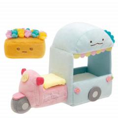 Japan San-X Scene Plush Toy - Sumikko Gurashi / Flower Wagon
