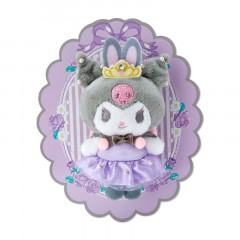 Japan Sanrio Mascot Brooch - Kuromi / Longing Ballerina
