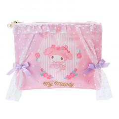 Japan Sanrio Flat Pouch - My Melody / Longing Ballerina