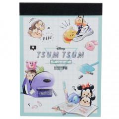 Japan Disney Mini Notepad - Tsum Tsum / School