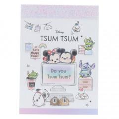 Japan Disney Mini Notepad - Tsum Tsum / Desk