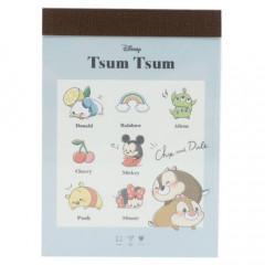 Japan Disney Mini Notepad - Tsum Tsum / List