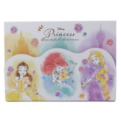 Japan Disney A6 Notepad with Cover - Princesses