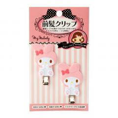 Japan Sanrio Hair Clip 2pcs - My Melody / Vertical