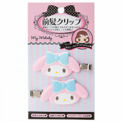 Japan Sanrio Hair Clip 2pcs - My Melody