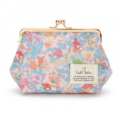 Japan Sanrio Liberty Print Cosmetic Pouch - My Melody / 45th Anniversary