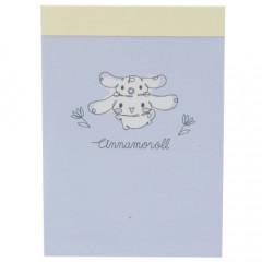 Japan Sanrio Mini Notepad - Cinnamoroll / Happy