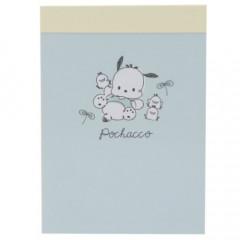 Japan Sanrio Mini Notepad - Pochacco / Happy