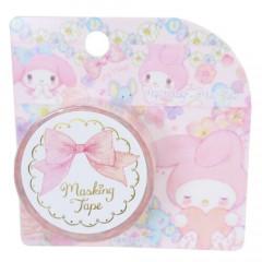 Japan Sanrio Takeimiki Washi Paper Masking Tape - My Melody / Flower