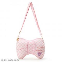Japan Sanrio Ribbon-shaped Pochette Shoulder Bag - Mewkledreamy