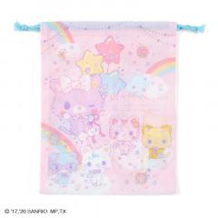 Japan Sanrio Drawstring Bag (M) - Mewkledreamy / Niji