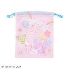 Japan Sanrio Drawstring Bag (S) - Mewkledreamy / Niji