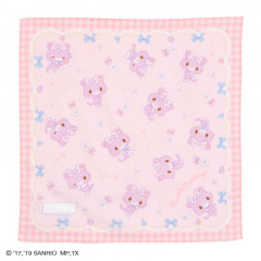 Japan Sanrio Petit Towel - Mewkledreamy / Ribbon