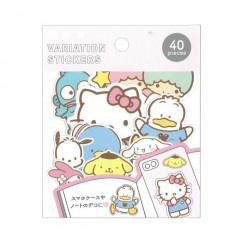 Japan Sanrio Variation Stickers - Sanrio Characters