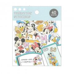 Japan Disney Variation Stickers - Mickey & Friends