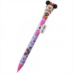Japan Disney Moving Knock Ball Pen - Minnie