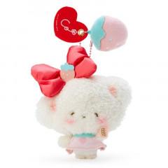 Japan Sanrio Keychain Plush - Handmade Cogimyun / First Love