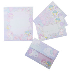 Japan Sanrio Letter Set - Little Twin Stars / Takeimiki Fantasy