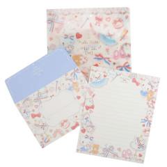 Japan Sanrio Letter Set with A5 File - Hello Kitty / Takeimiki Fantasy