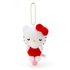 Japan Sanrio Keychain Plush - Hello Kitty / Acupoint Push Mascot