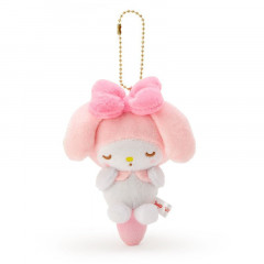Japan Sanrio Keychain Plush - My Melody / Acupoint Push Mascot