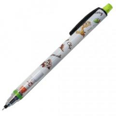 Japan Disney Kuru Toga Mechanical Pencil - Chip & Dale Green