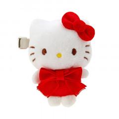 Japan Sanrio Mascot Hair Clip - Hello Kitty