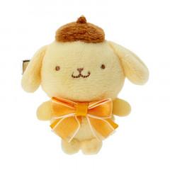 Japan Sanrio Mascot Hair Clip - Pompompurin