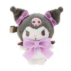 Japan Sanrio Mascot Hair Clip - Kuromi