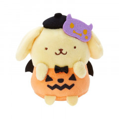 Japan Sanrio Mini Plush - Pompompurin / Halloween 2021