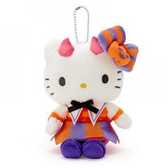 Japan Sanrio Keychain Plush - Hello Kitty / Halloween 2021