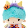 Japan Sanrio Keychain Plush - Little Twin Stars Kiki / Halloween 2021 - 3