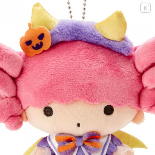 Japan Sanrio Keychain Plush - Little Twin Stars Lala / Halloween 2021 - 3