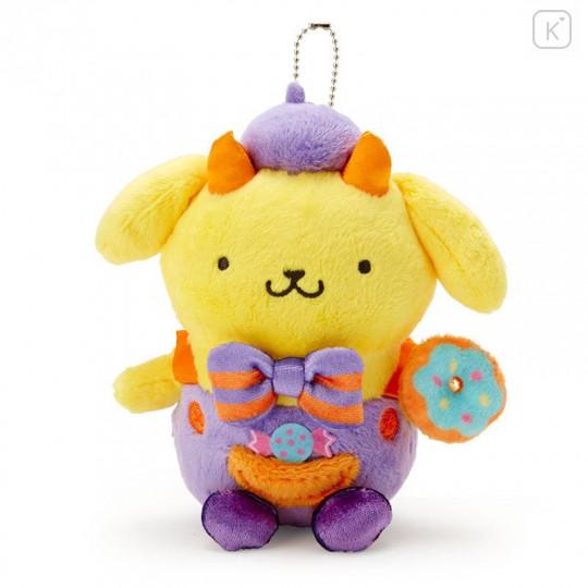 Japan Sanrio Keychain Plush - Pompompurin / Halloween 2021 - 1