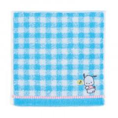 Japan Sanrio Petit Towel - Pochacco / Check