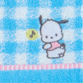 Japan Sanrio Petit Towel - Pochacco / Check - 2