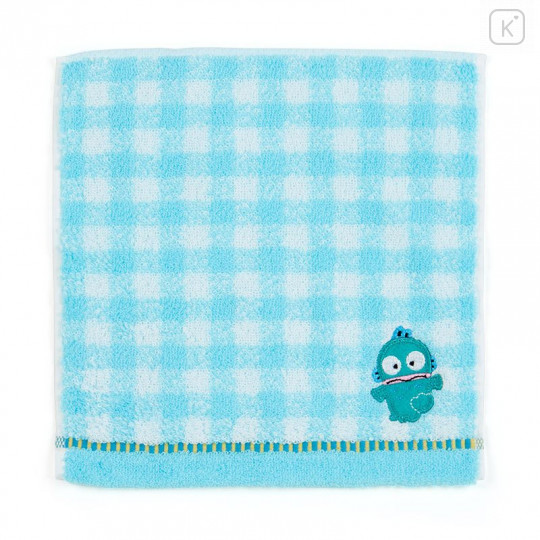 Japan Sanrio Petit Towel - Hangyodon / Check - 1