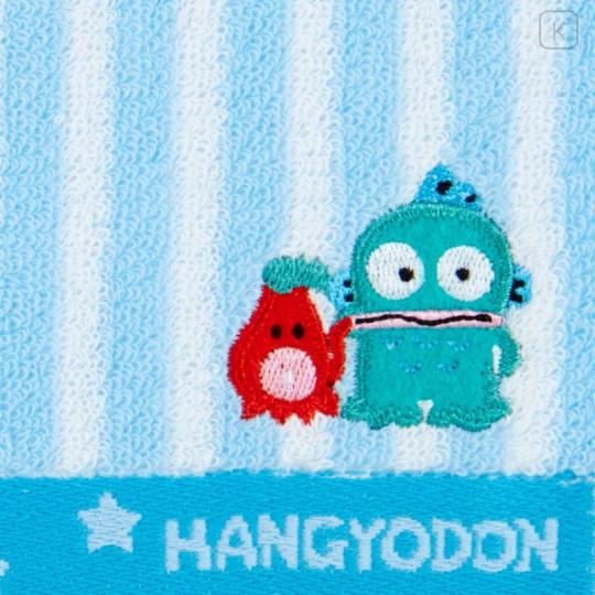Japan Sanrio Petit Towel - Hangyodon / Striped - 2